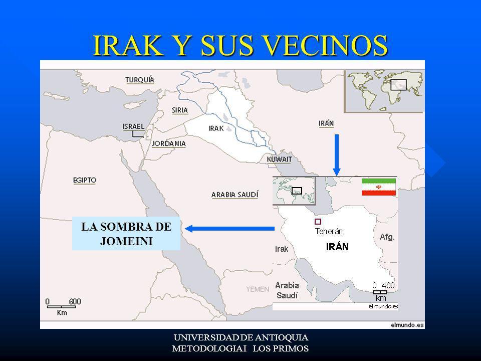 PRINCIPAL ENEMIGO DE IRAK CLAVE EN LA OFENSIVA TERRESTRE