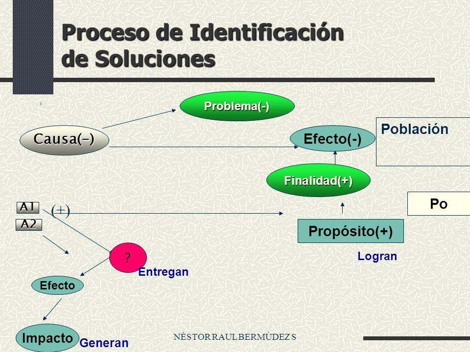 Proceso de Identificación de Soluciones