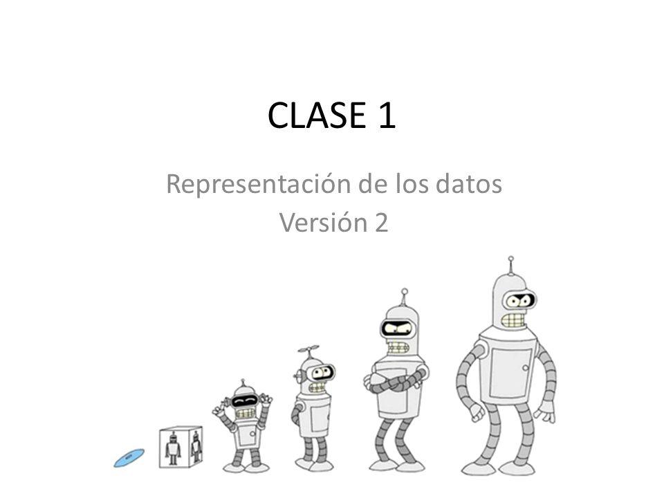 Representación de los datos Versión 2