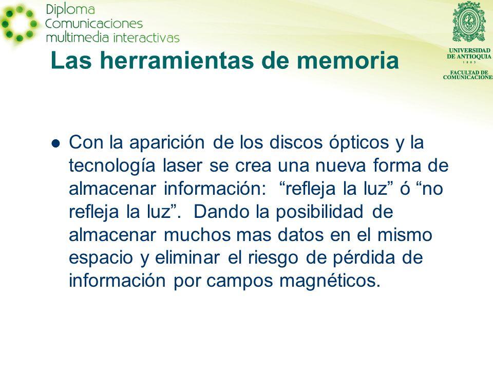 Las herramientas de memoria