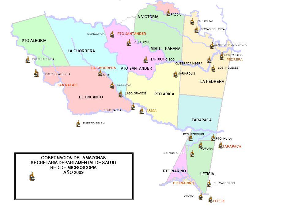 GOBERNACION DEL AMAZONAS SECRETARIA DEPARTAMENTAL DE SALUD