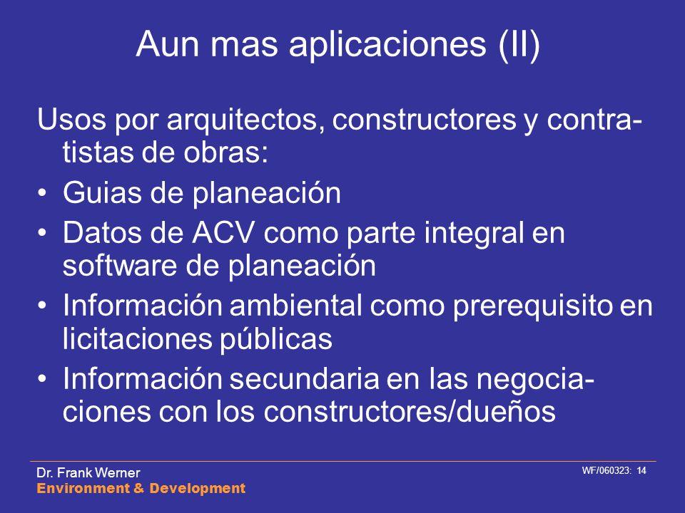 Aun mas aplicaciones (II)