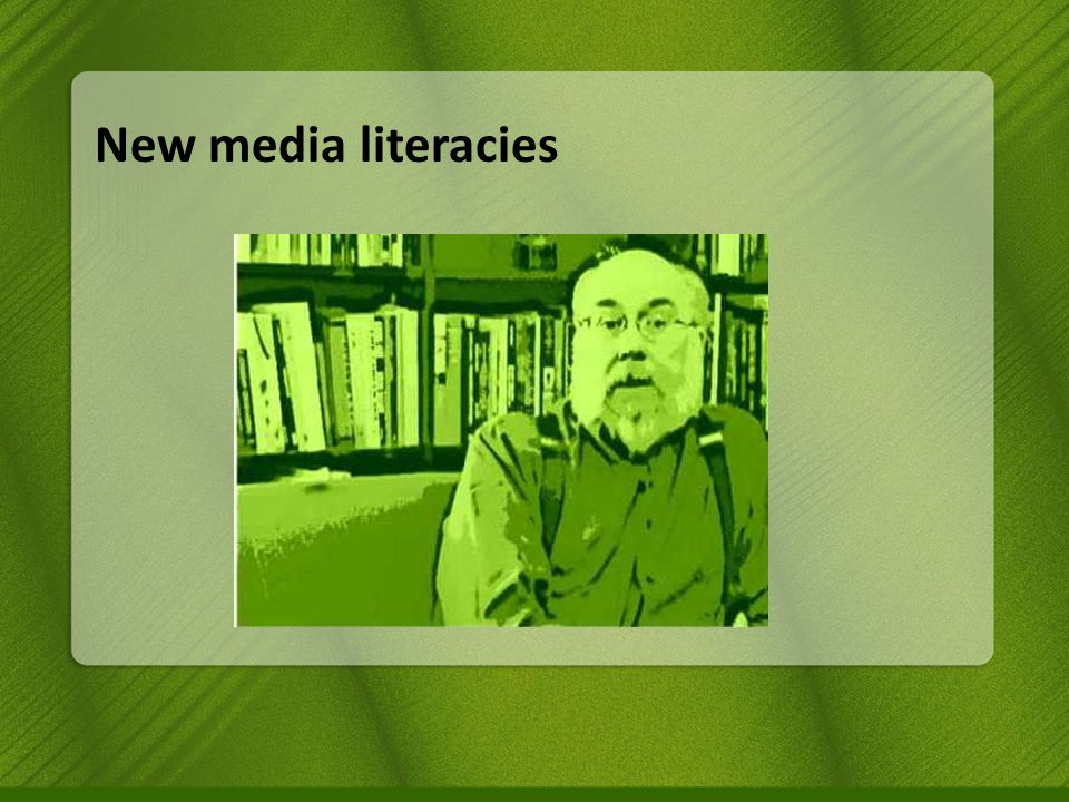 New media literacies http://es.wikipedia.org/wiki/Videojuego