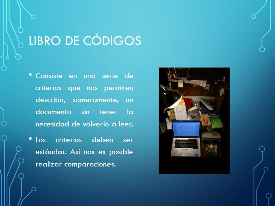 LIBRO DE CÓDIGOS