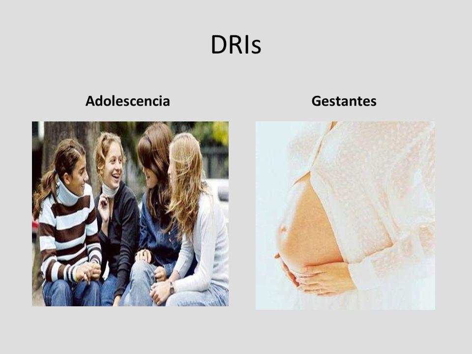 DRIs Adolescencia Gestantes