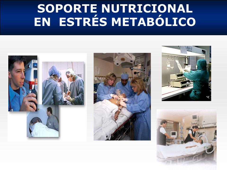 SOPORTE NUTRICIONAL EN ESTRÉS METABÓLICO