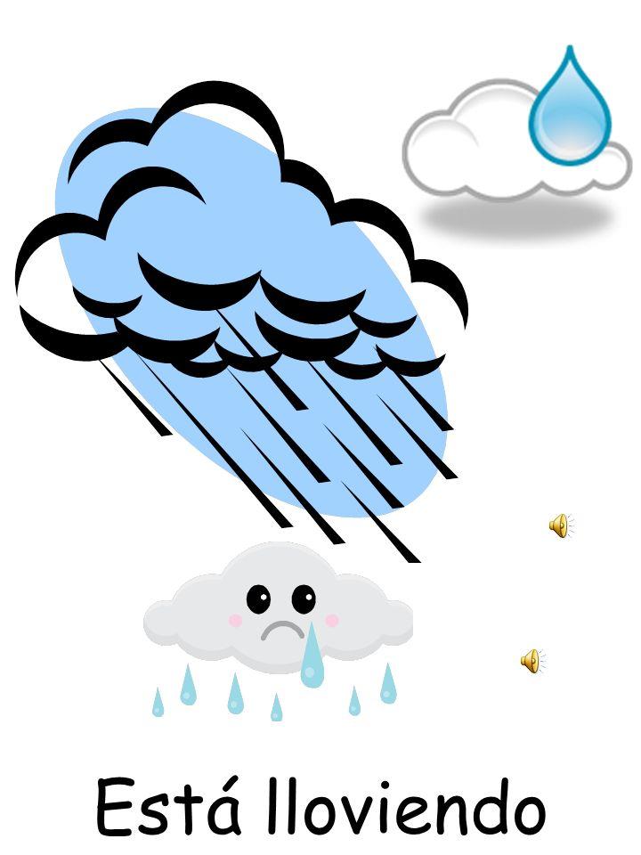 Está lloviendo