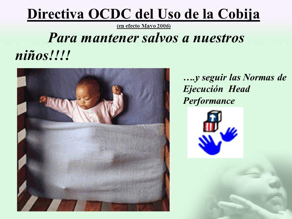 Directiva OCDC del Uso de la Cobija (en efecto Mayo 2006)