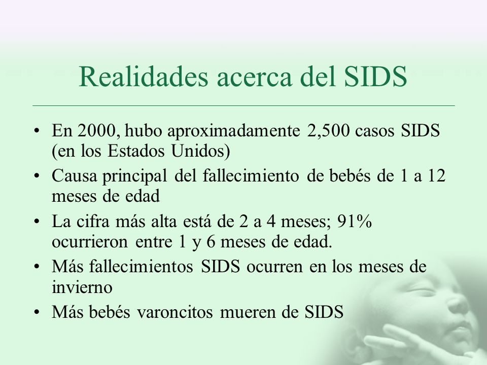 Realidades acerca del SIDS