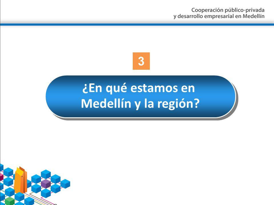 ¿En qué estamos en Medellín y la región