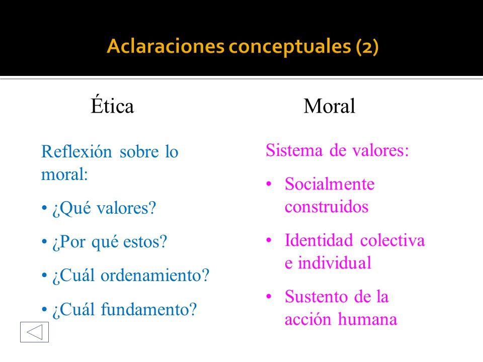 Aclaraciones conceptuales (2)