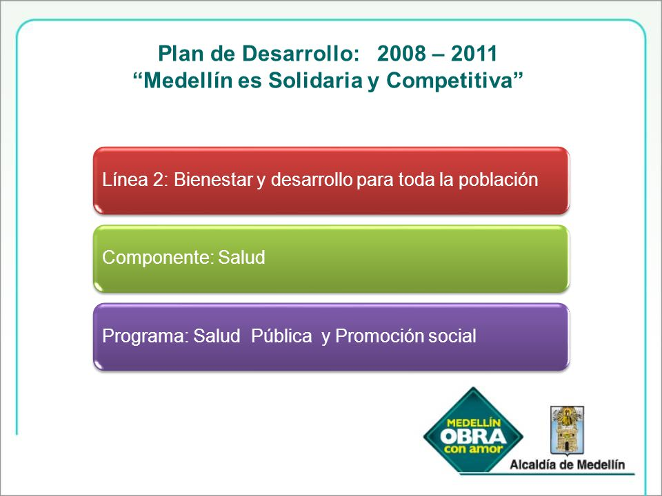 Medellín es Solidaria y Competitiva