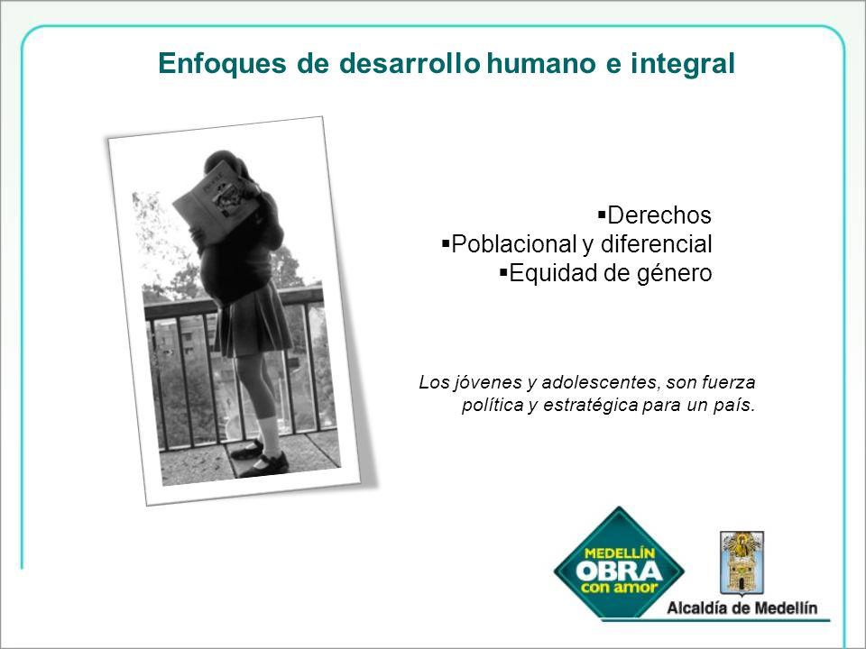 Enfoques de desarrollo humano e integral