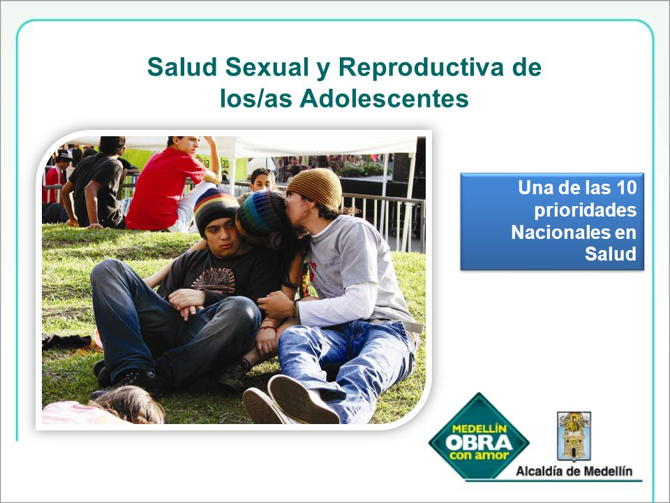Salud Sexual y Reproductiva de los/as Adolescentes