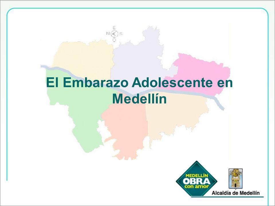 El Embarazo Adolescente en Medellín