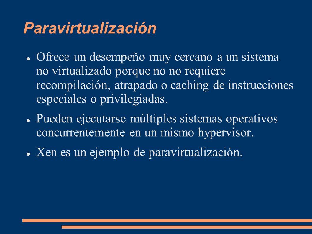 Paravirtualización