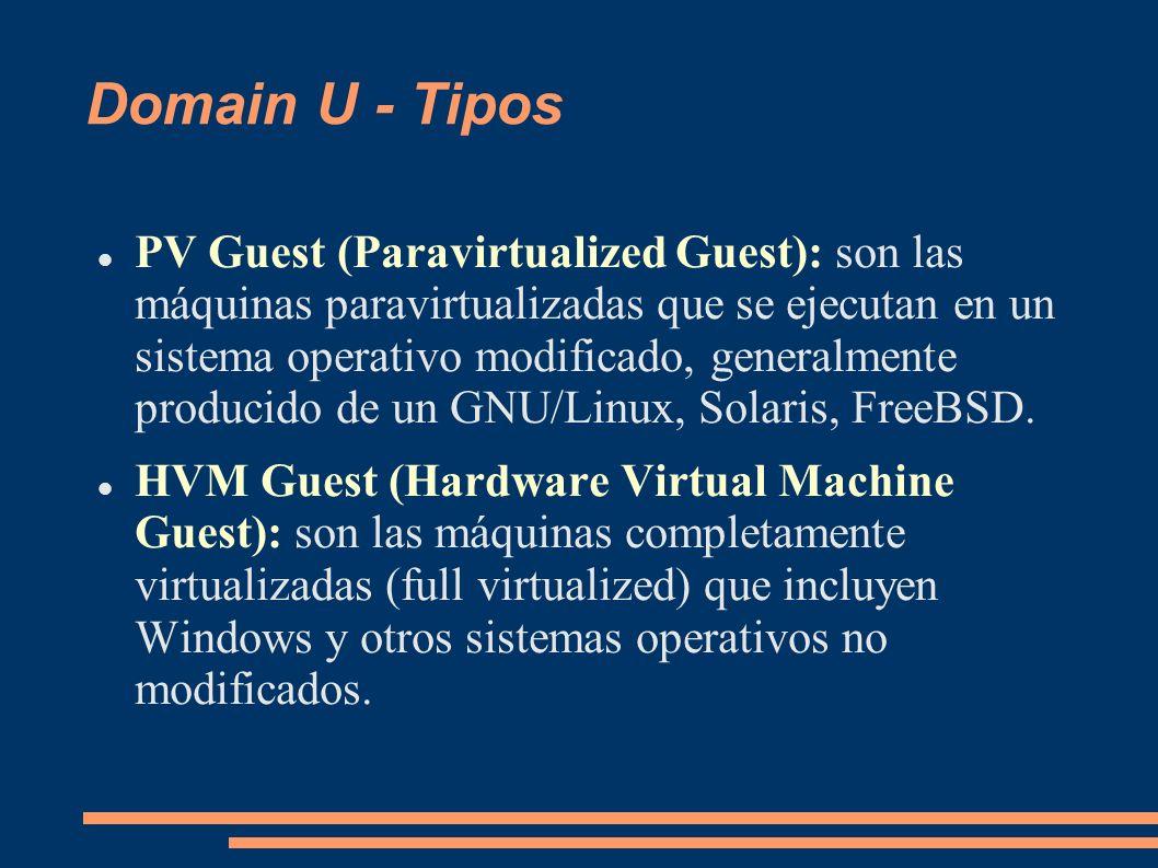Domain U - Tipos