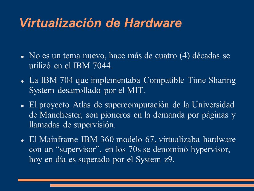 Virtualización de Hardware