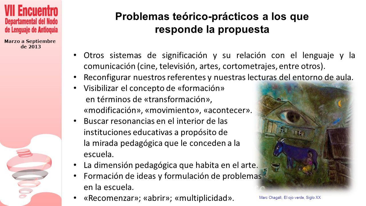 Problemas teórico-prácticos a los que responde la propuesta