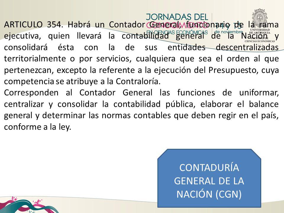 CONTADURÍA GENERAL DE LA NACIÓN (CGN)
