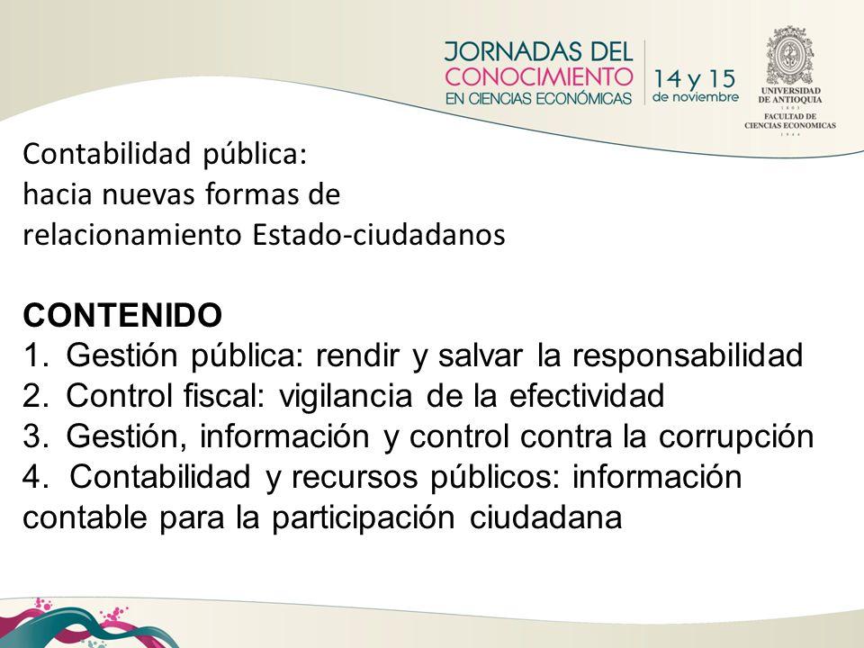 Contabilidad pública: