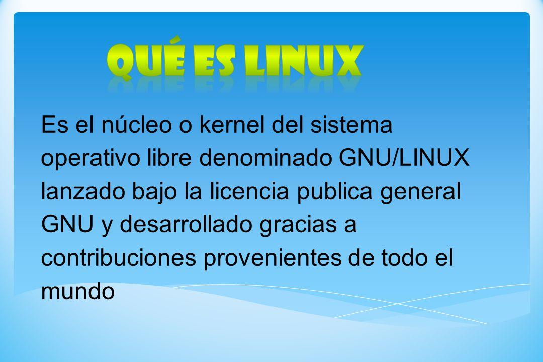 Qué es LINUX