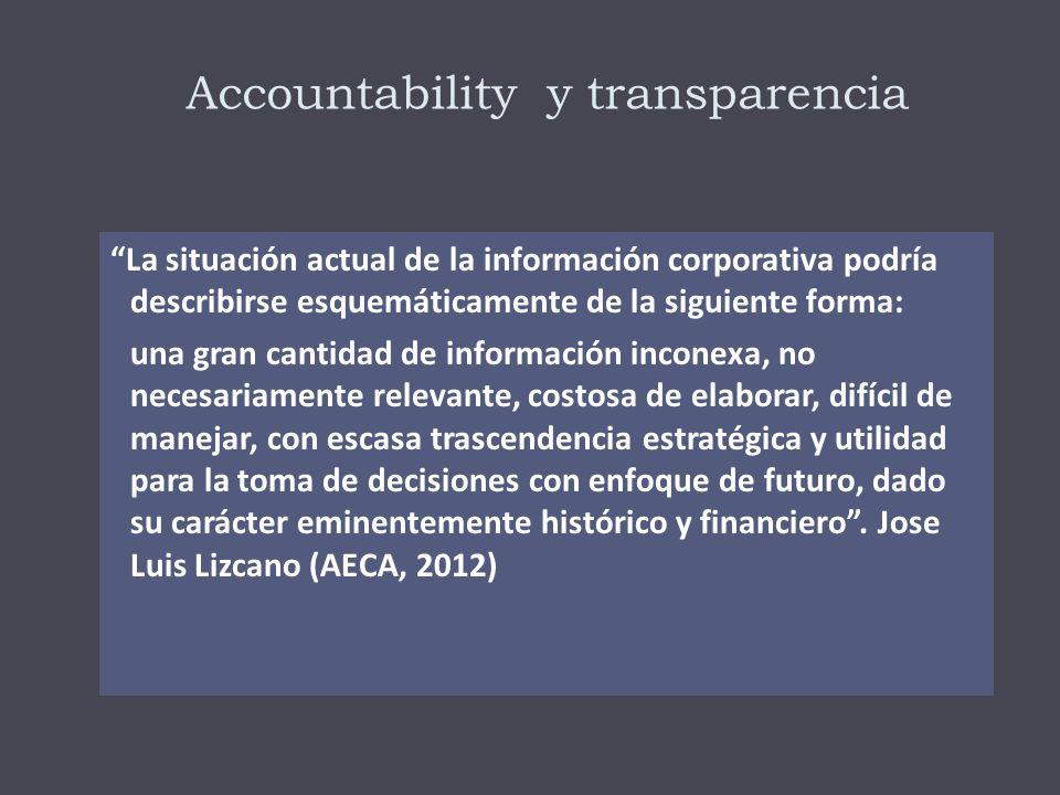 Accountability y transparencia
