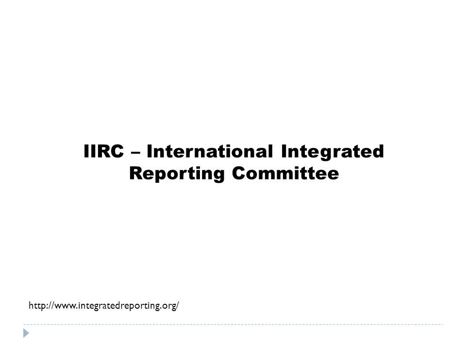 IIRC – International Integrated