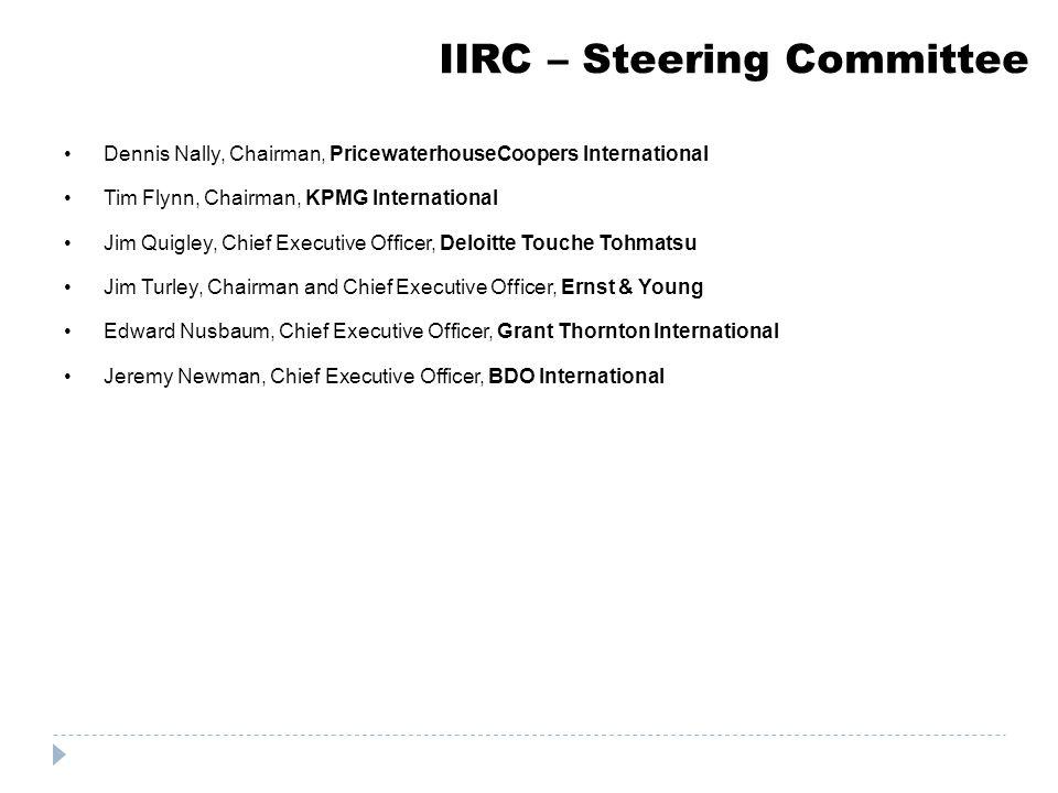 IIRC – Steering Committee