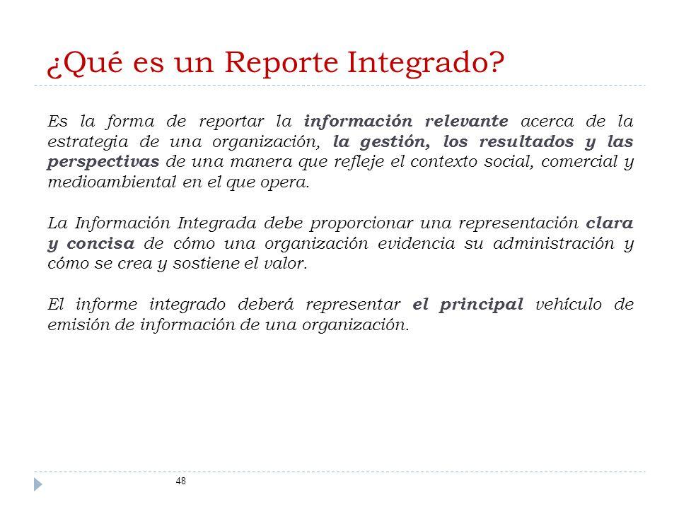 ¿Qué es un Reporte Integrado