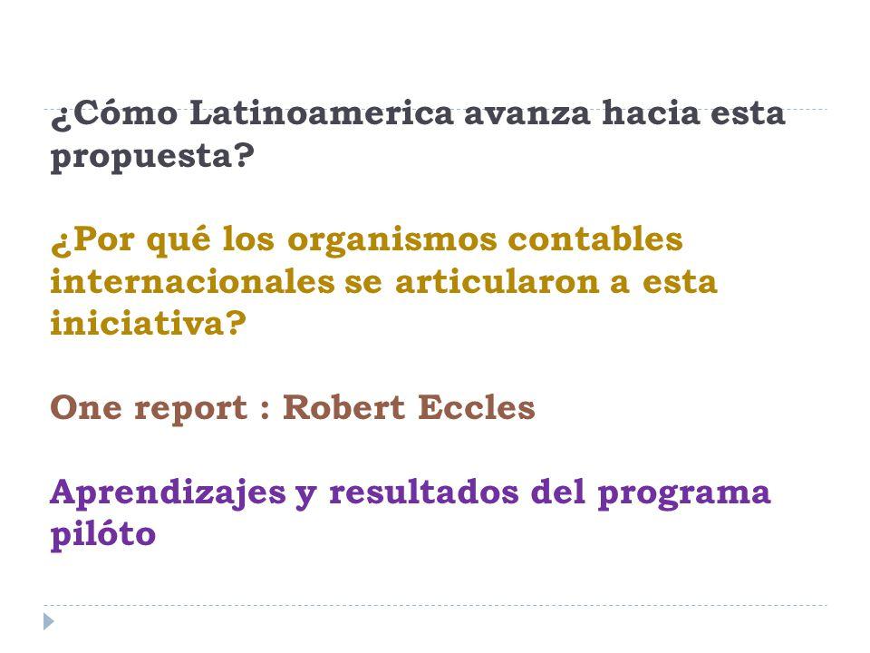 ¿Cómo Latinoamerica avanza hacia esta propuesta