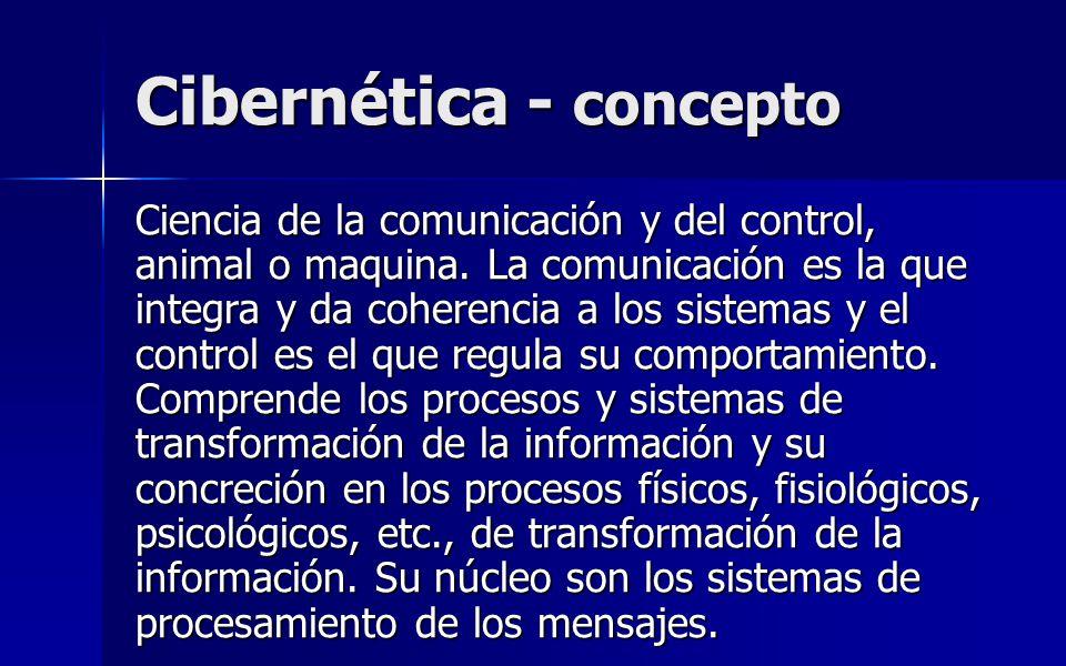 Cibernética - concepto
