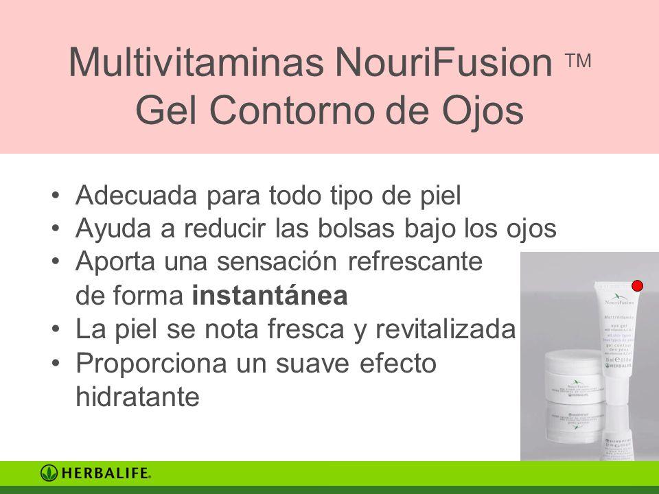 Multivitaminas NouriFusion TM Gel Contorno de Ojos