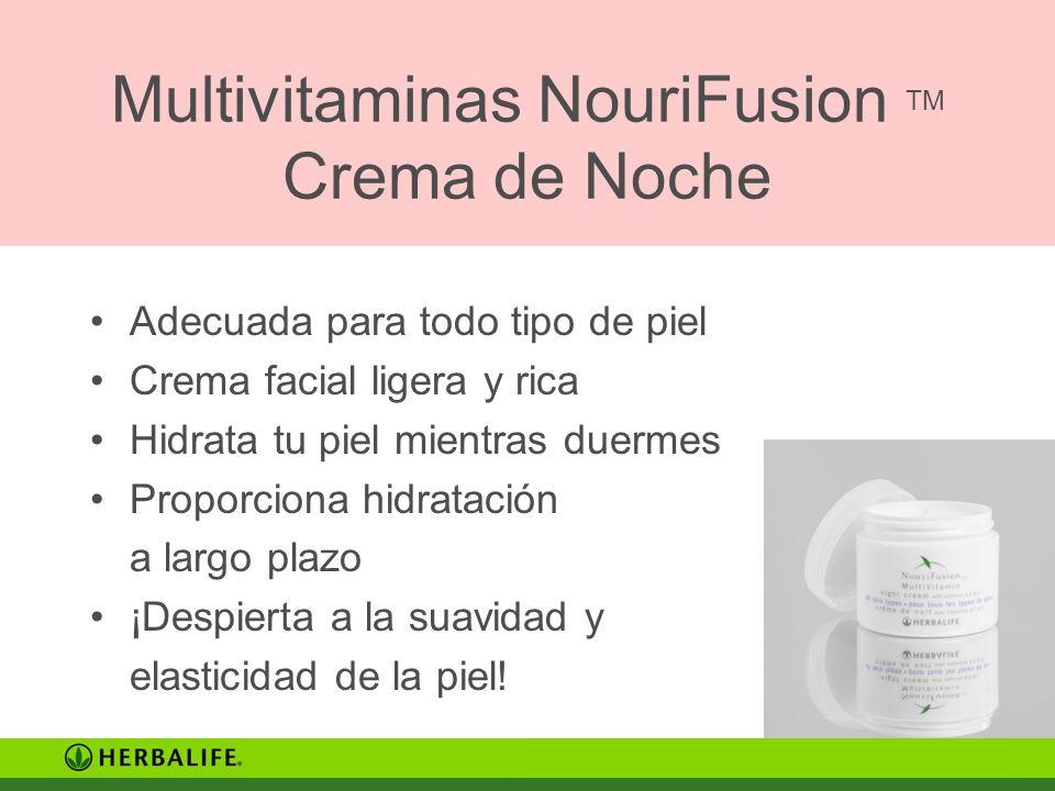 Multivitaminas NouriFusion TM Crema de Noche