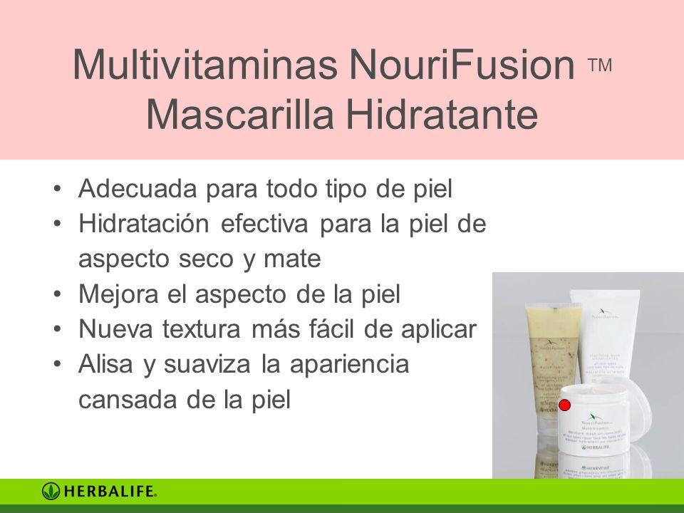 Multivitaminas NouriFusion TM Mascarilla Hidratante