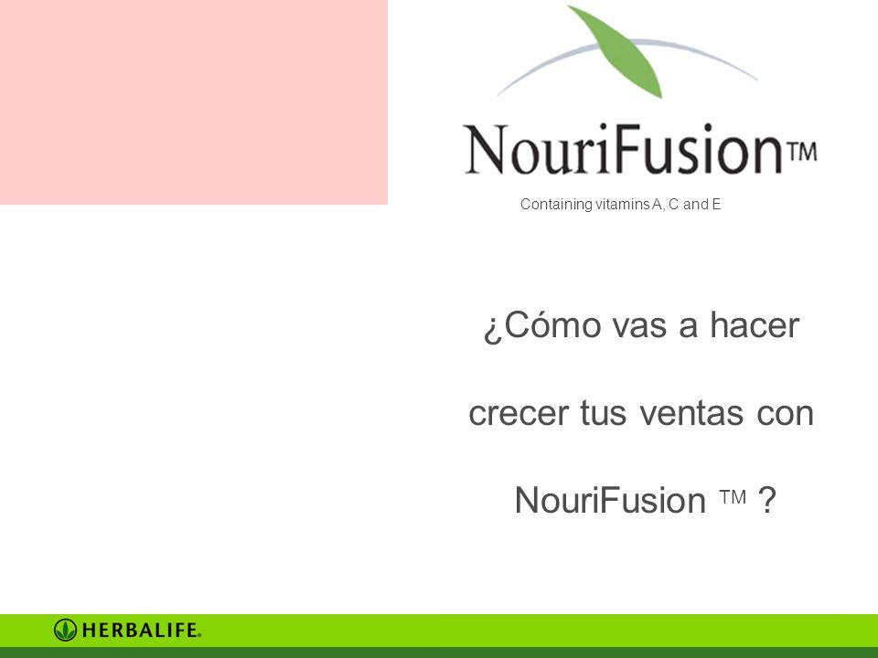 ¿Cómo vas a hacer crecer tus ventas con NouriFusion TM