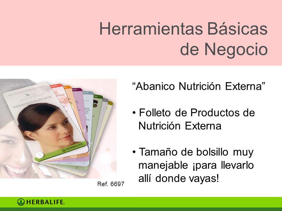 Herramientas Básicas de Negocio Abanico Nutrición Externa