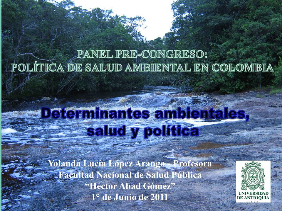 Determinantes ambientales, salud y política