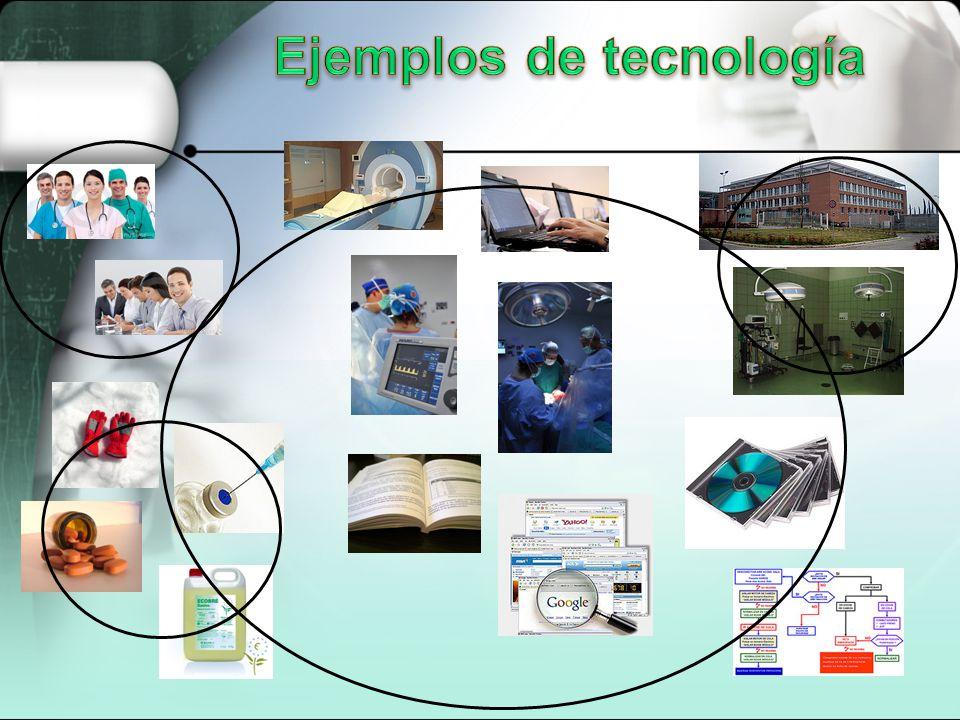 Ejemplos de tecnología