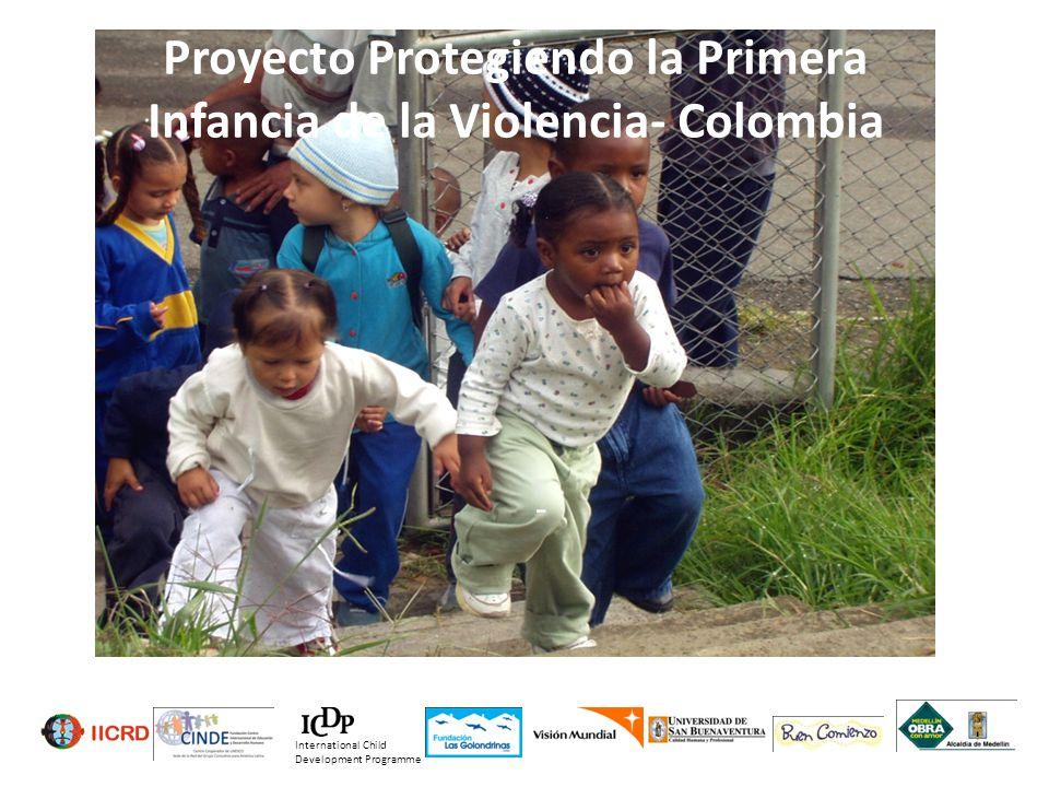 Proyecto Protegiendo la Primera Infancia de la Violencia- Colombia