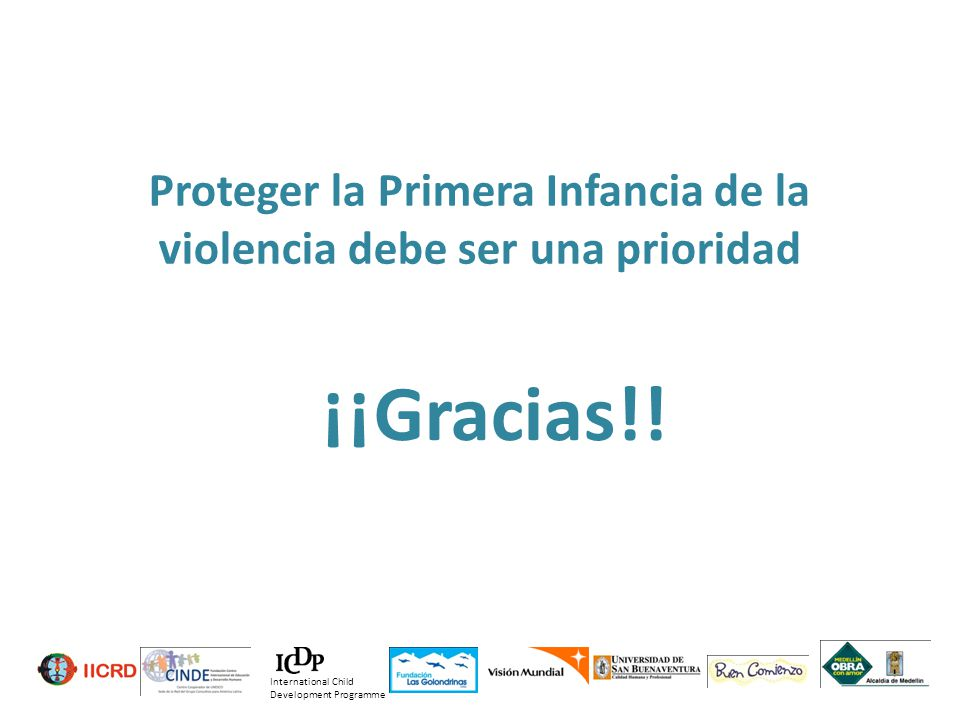 Proteger la Primera Infancia de la violencia debe ser una prioridad
