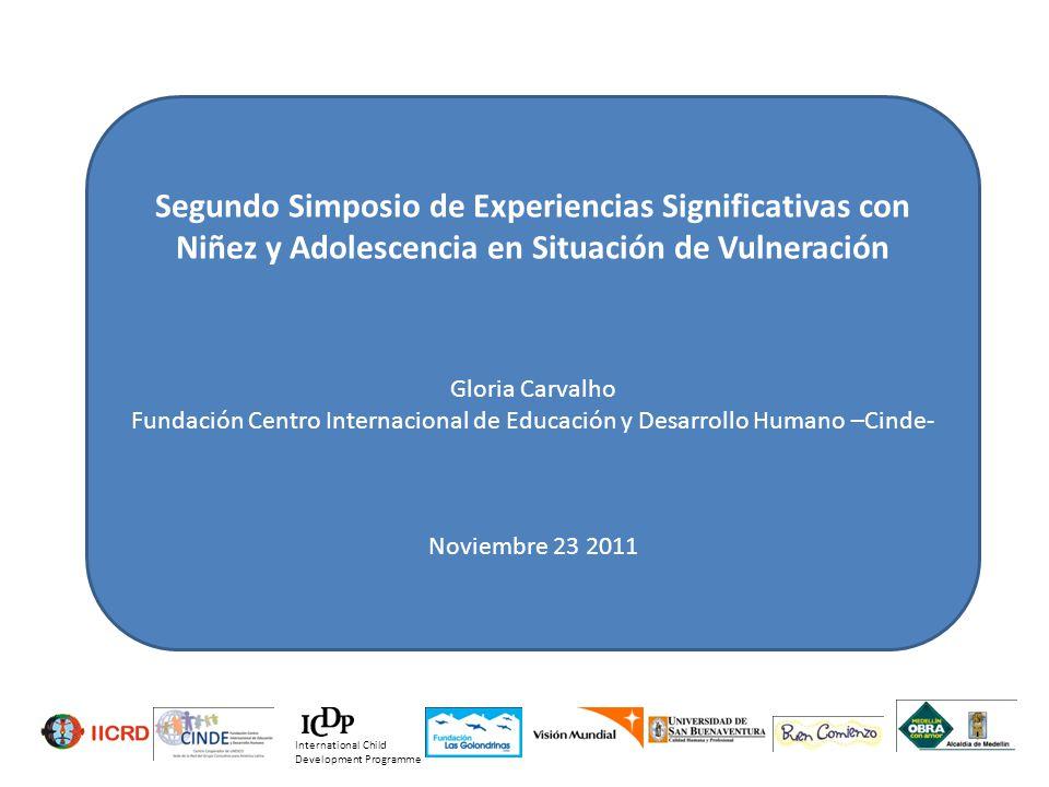 Segundo Simposio de Experiencias Significativas con Niñez y Adolescencia en Situación de Vulneración