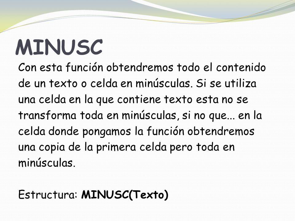 MINUSC