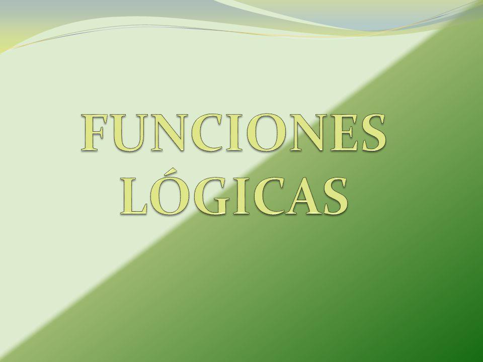 FUNCIONES LÓGICAS