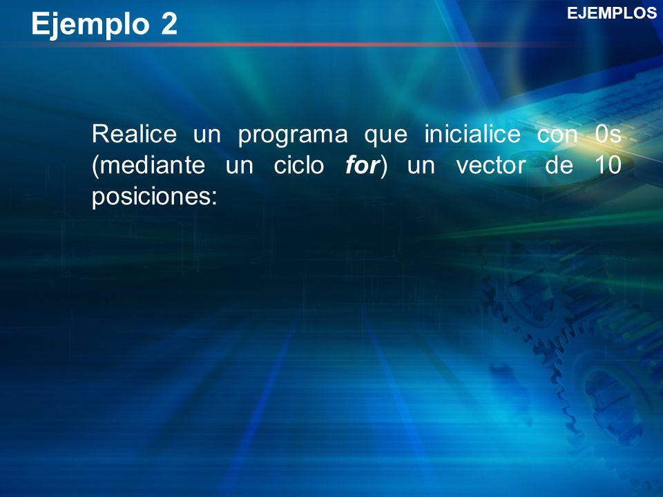 Ejemplo 2 EJEMPLOS.