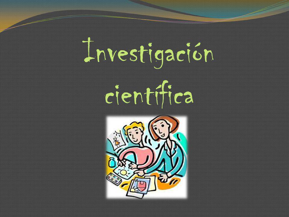 Investigación científica