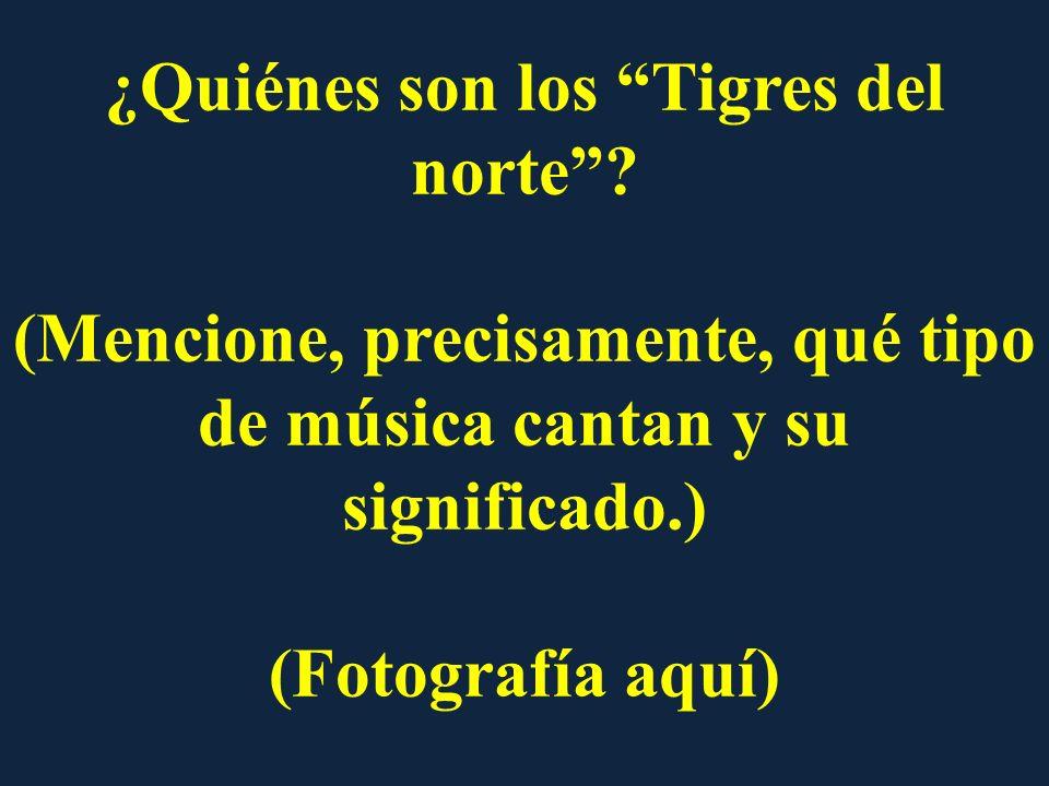 ¿Quiénes son los Tigres del norte