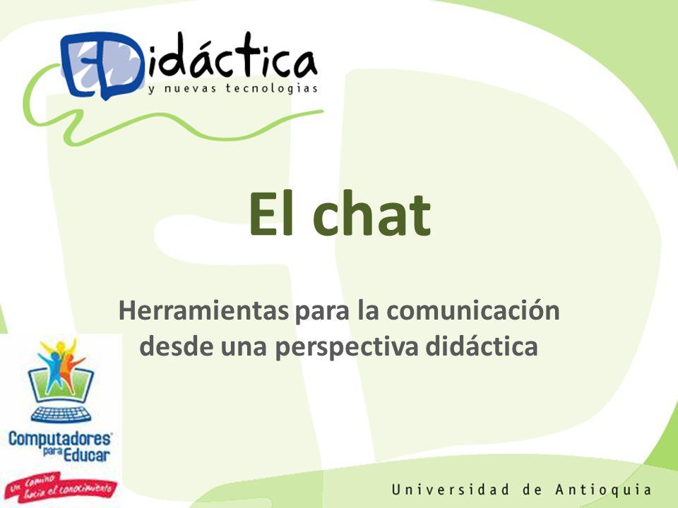 Herramientas para la comunicación desde una perspectiva didáctica