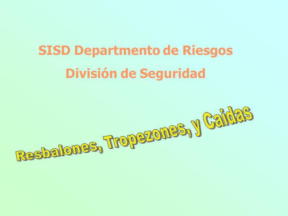 SISD Departmento de Riesgos