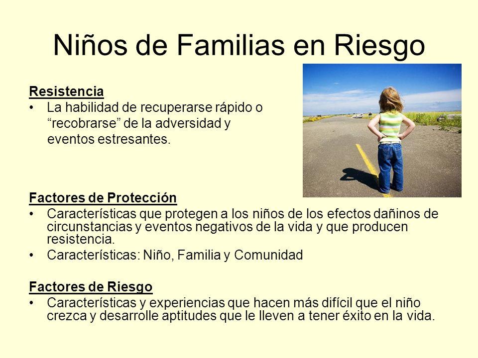 Niños de Familias en Riesgo